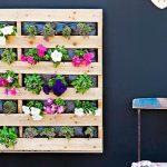Pallets e mais pallets para decorar seu jardim