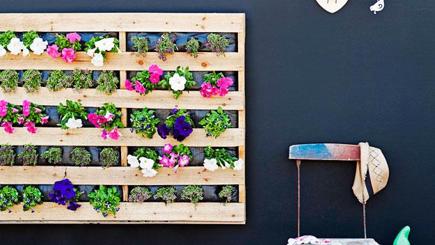 Ideia Decorar Pallets e mais pallets para decorar seu jardim Pallets e mais pallets para decorar seu jardim 3