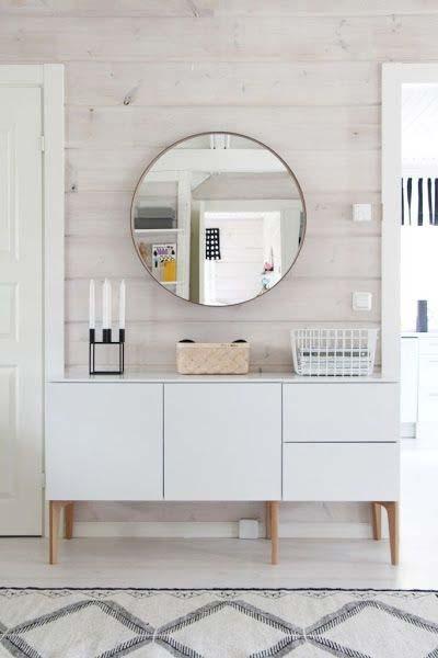 Ideia Decorar Espelho redondo na decoração espelho redondo na decoracao