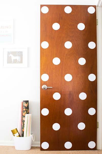 Ideia Decorar Decoração: Porta estampada porta estampada5