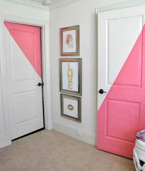 Ideia Decorar Decoração: Porta estampada porta estampada6