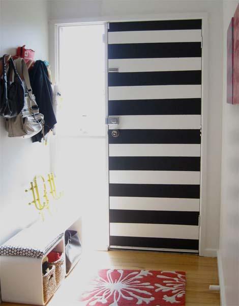 Ideia Decorar Decoração: Porta estampada porta estampada7