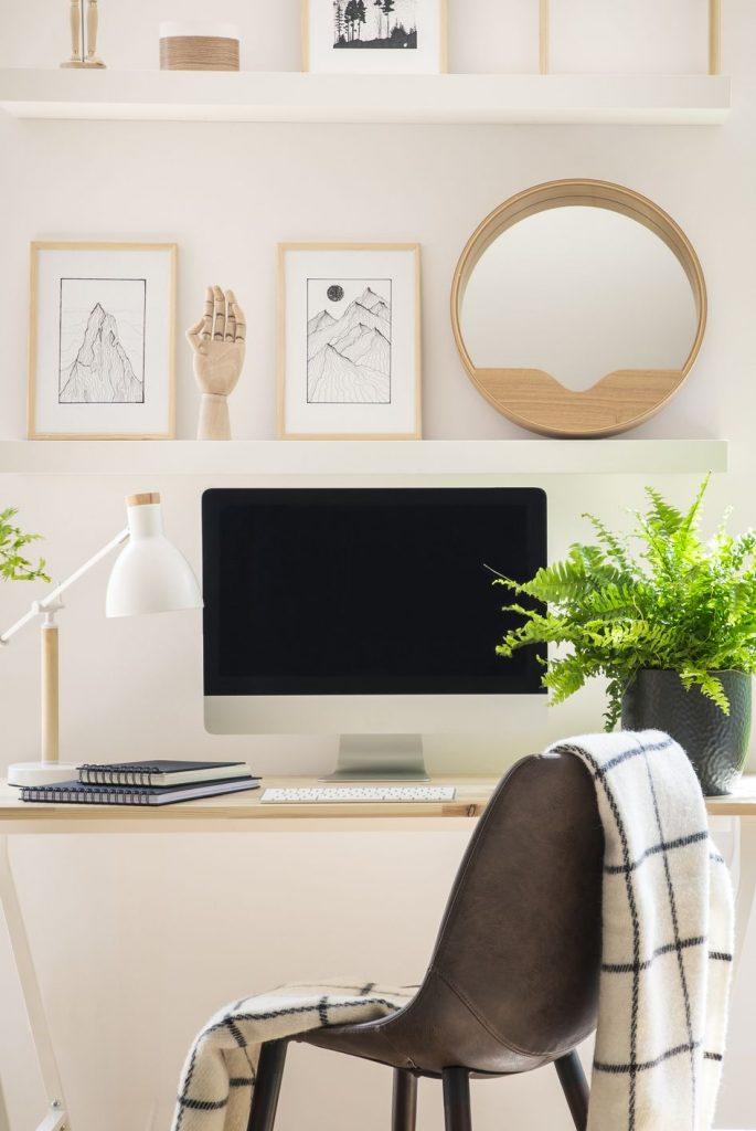 Ideia Decorar 11 ideias de decoração para home office 30 ideias de decoracao para home office 4