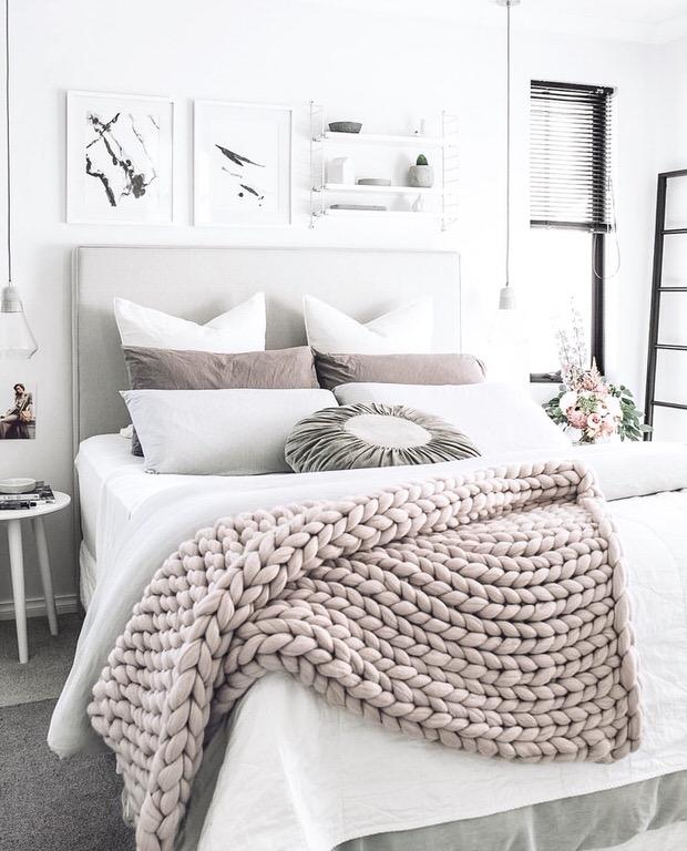 Ideia Decorar Ideias baratas para decorar o quarto Ideias charmosas mas baratas para decoracao de quartos9
