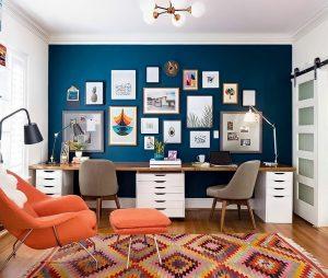 Ideia Decorar ideia de decoração home office (14) ideia de decoracao home office 14