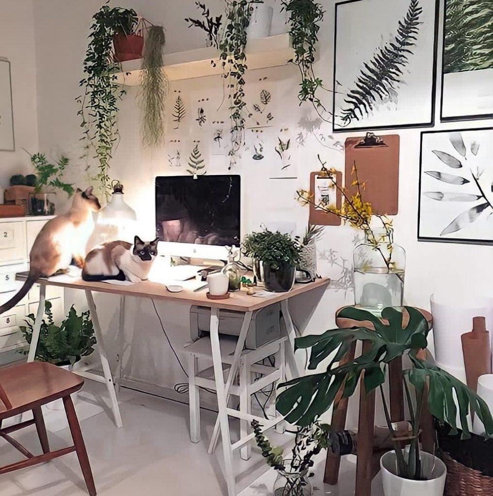 Ideia de decoração para Home Office