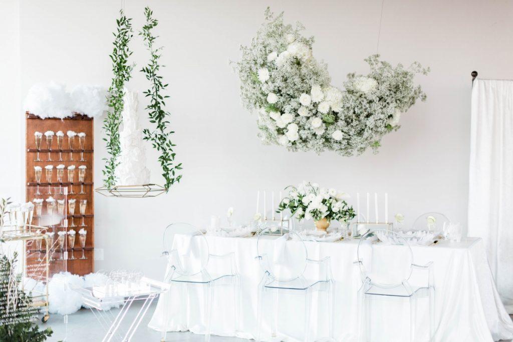 Menos pode ser mais na decoração do seu casamento