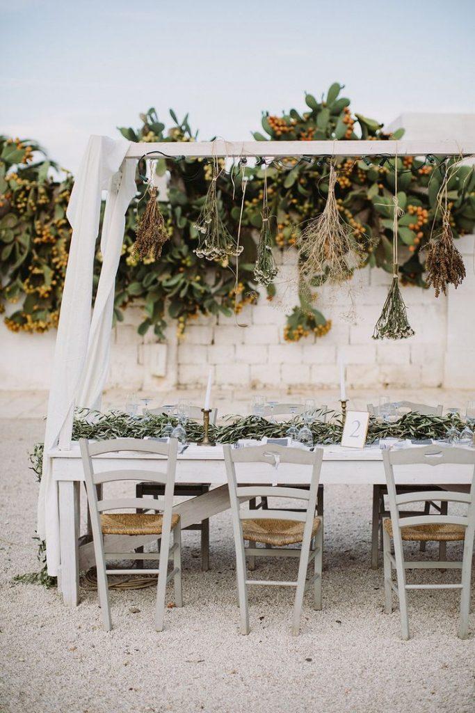 Muitas vezes a simplicidade torna a festa de casamento mais bonita