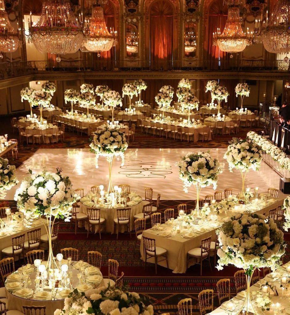 Luzes e iluminação na decoração do casamento
