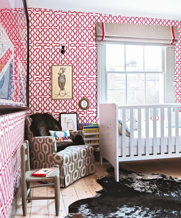 Ideia Decorar Decoração de quarto de bebê menina Decoracao de quarto de bebe menina 10