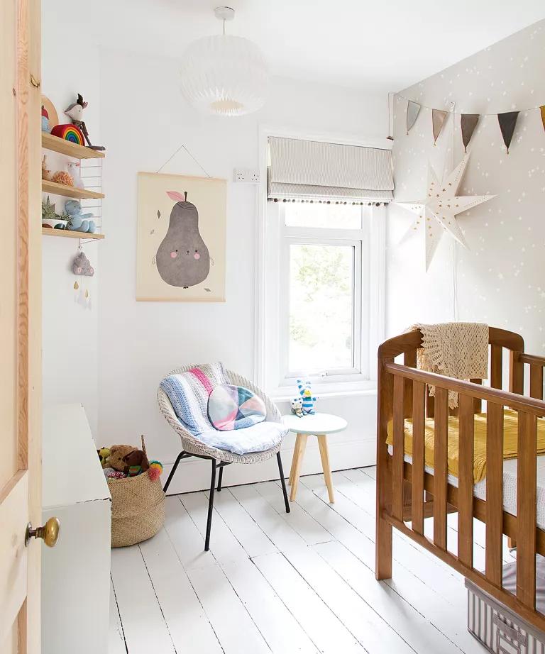 Ideia Decorar Decoração de quarto de bebê menina Decoracao de quarto de bebe menina 6