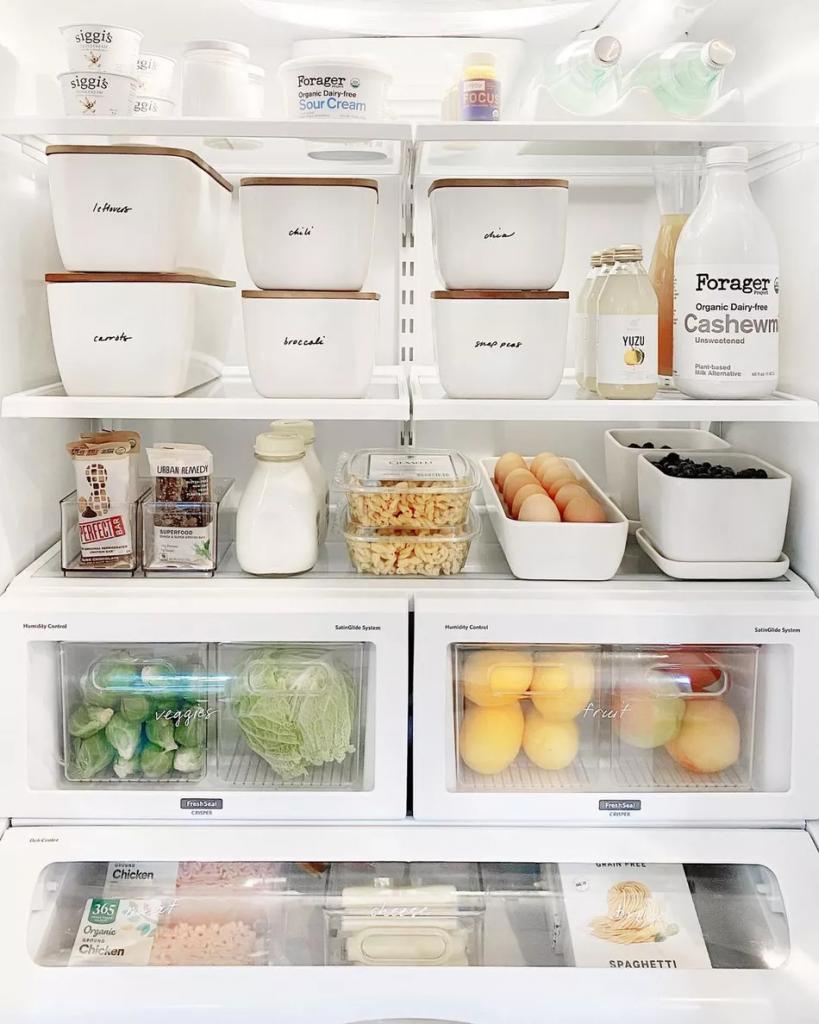 Guia definitivo para organizar a geladeira